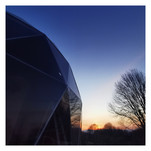 Geodesic Dome at dusk