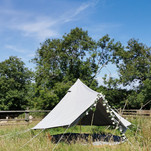 Bell tents available to hire
