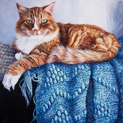 Large 16 inch square portrait