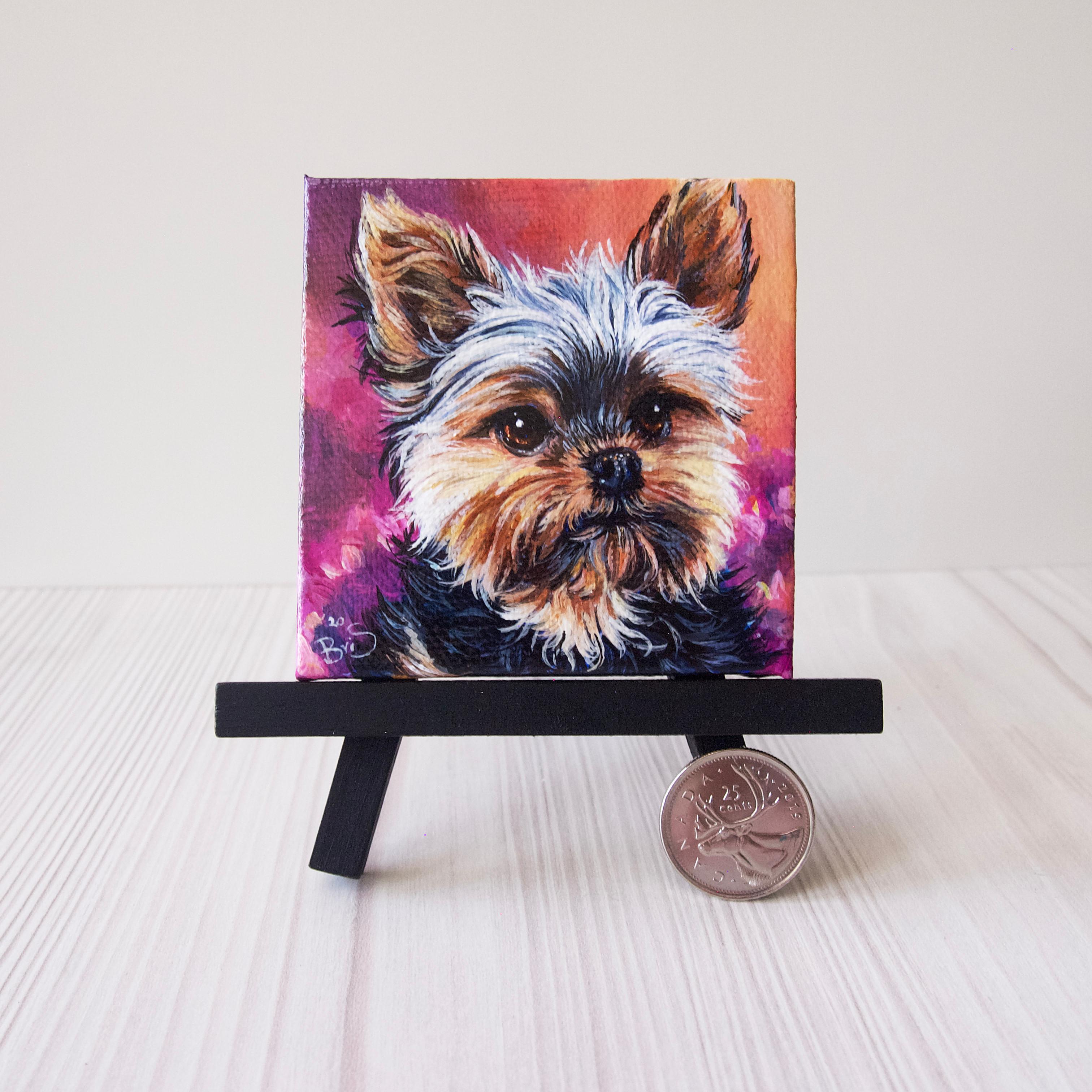 "3"" x 3"" Mini Pet Portrait"