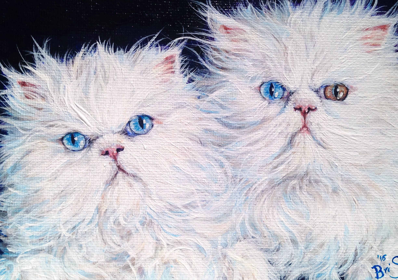 "5"" x 7"" Two Pets, One Portrait"
