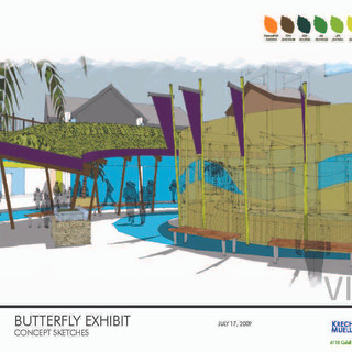 Butterfly Bay Concept Sketch Floor View.