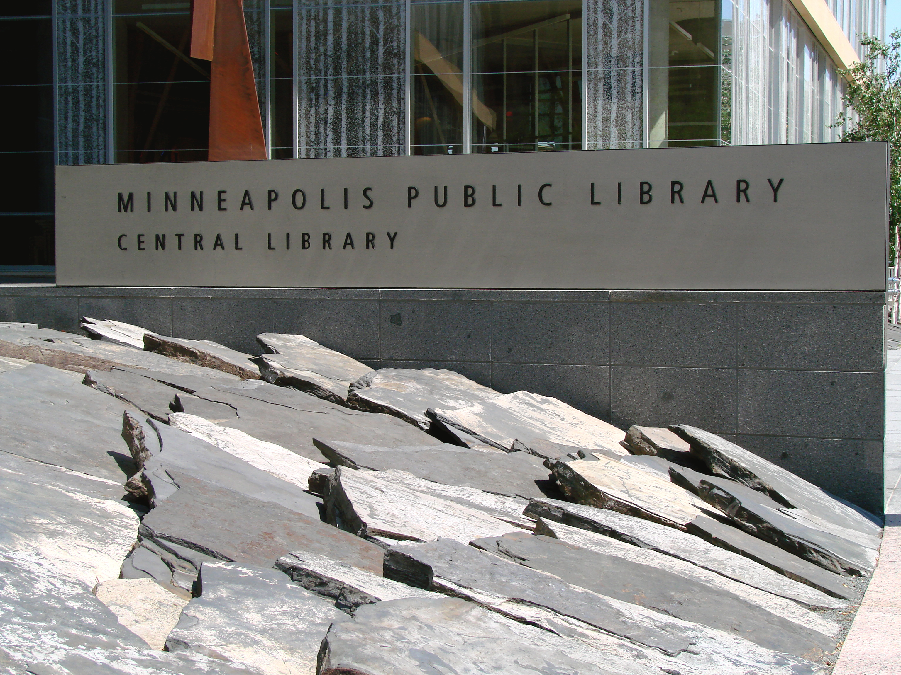 "Central Library Slate ""Fish Scale"""