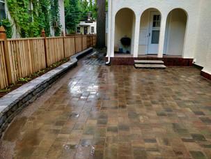 Backyard-Paver-Patio-Custom-Cedar-Fence-