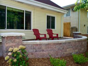 Front-Yard-Patio-Concrete-Wall-Landscapi