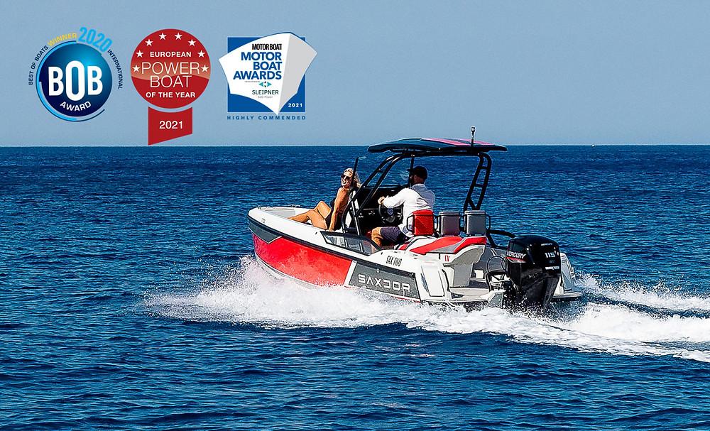Barca motoscafo Saxdor 200 Sport vince l'European Power Boat 2021.jpg