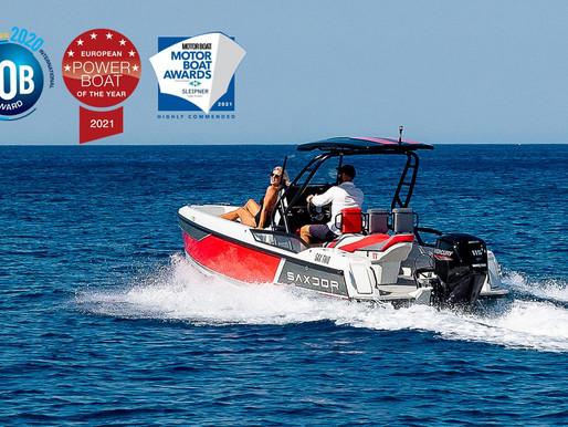 Il Saxdor 200 ha vinto l'European Power Boat Of The Year 2021