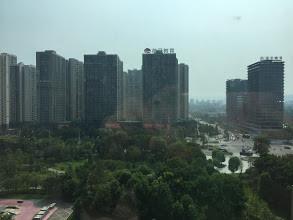 重慶大學城假日酒店窗外景觀