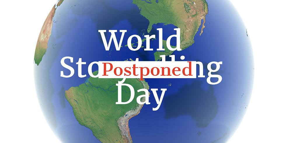 POSTPONED - World Storytelling Day - Roanoke, VA