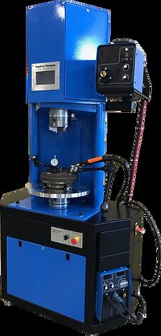 Heavy duty truc torque converter welder