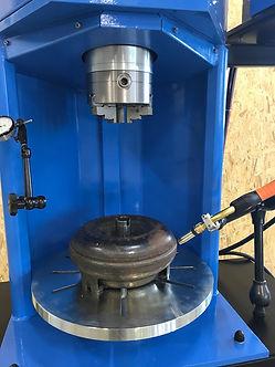 truc converter welding stand