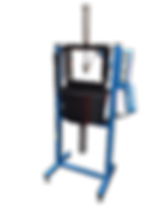 Torque conveter leak test stand