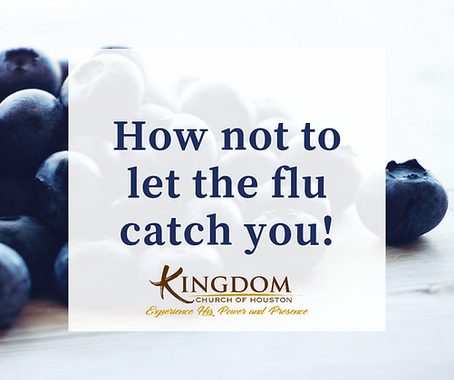 How not to let the flu catch you!