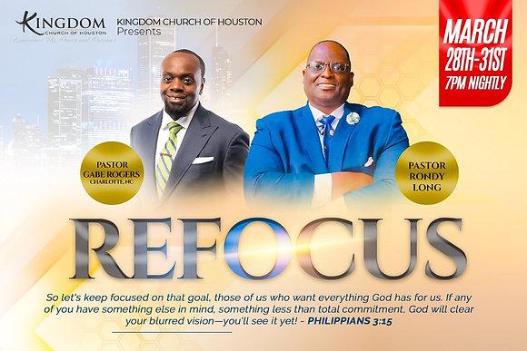 Refocus Conference (Digital Download)