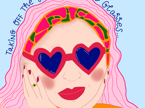 Taking Off the Rose-Coloured Glasses: The Stages Of Grief