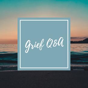 A Chatty Grief Q&A