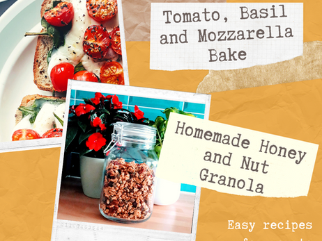 Two Easy and Healthy Recipes