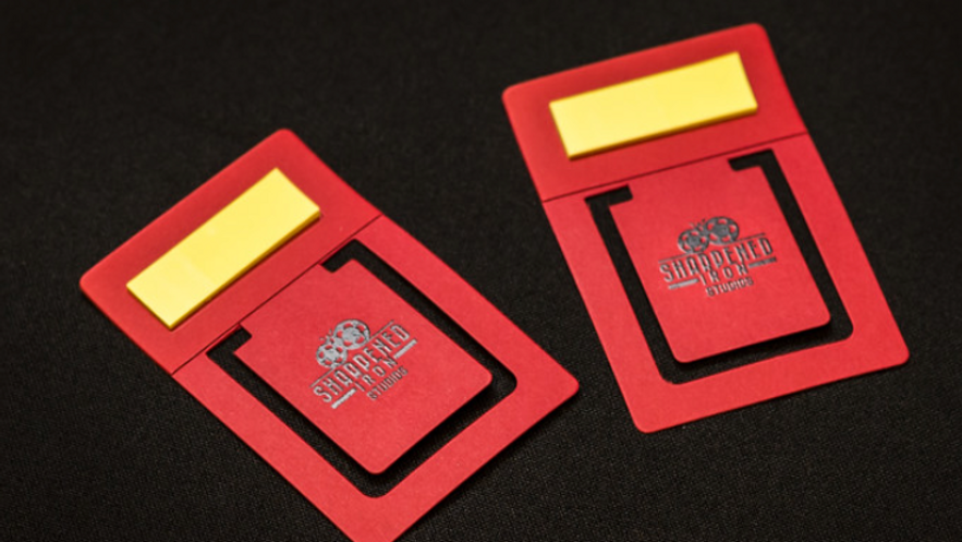 Bookmarks with Sticky Notes