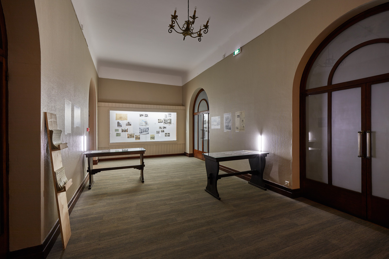 Archives ancienne Casa d'Italia.Photo:Jeanchristophe Lett