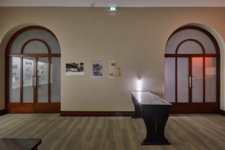Archives ancienne Casa d'Italia. Photo:Jeanchristophe Lett