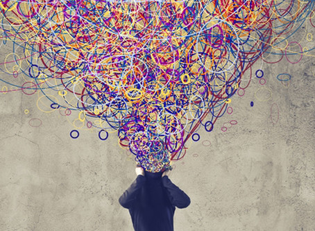 Do you ever feel you can't think because your minds over thinking?