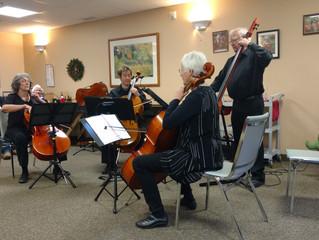 Mountainside ensembles perform for Seniors