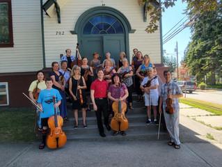 Kudos to Chamber Strings 2021!