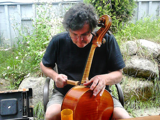 Luthier, Ross Hill at Chamber Strings