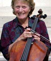 Tanya Prochazka- Clinician for Chamber Strings Program:  Strings Master Class-Professor of Cello and