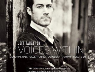 Voices Within CD Release Concert in Silverton on Saturday Oct 1, 7:30 (note date change)