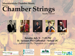 Chamber Strings Faculty Concert: July 9th