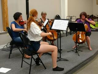 Chamber Strings deadline May 17