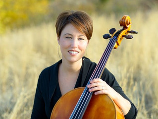 Announcing Cellist, Olivia Walsh