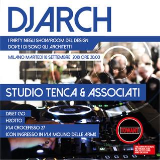 Dj Arch Night: gli architetti diventano dj per una notte
