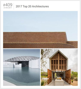 2017 Top 20 Architectures