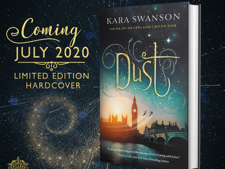 Cover reveal for 'dust'!