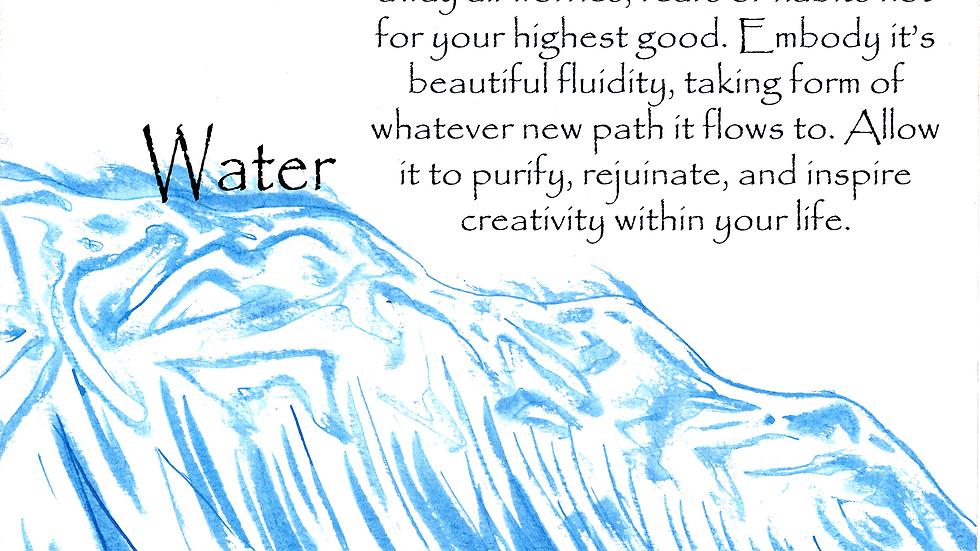 Elemental Prayer Art