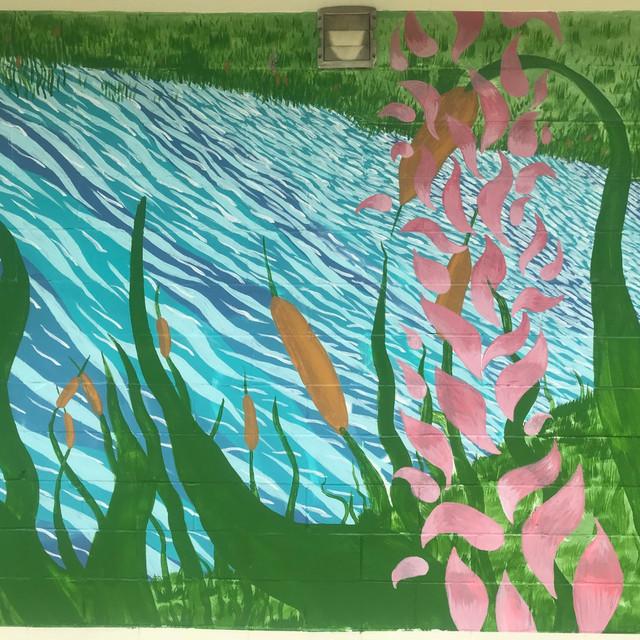 Ruby Lake Memorial Mural