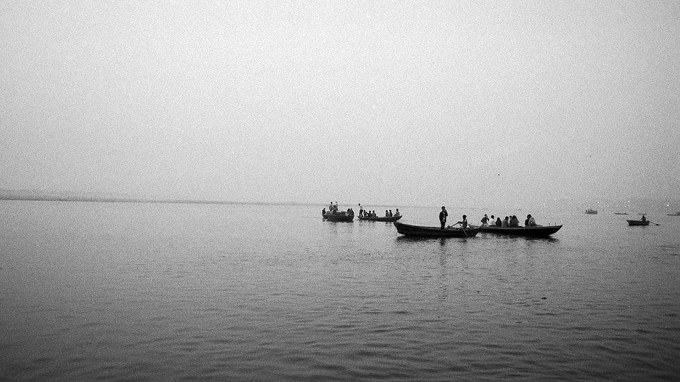 Sunrise on the Ganges River