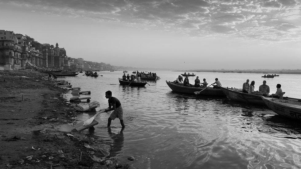 Everyday life in Varanasi