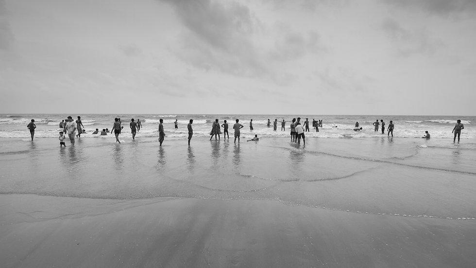 Beach in Margao.