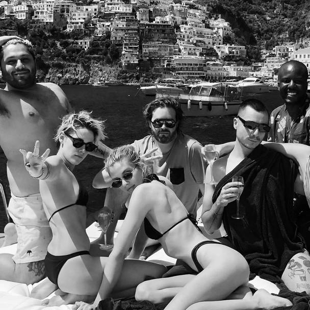 Foto di Kristen Stewart in Vacanza in Italia