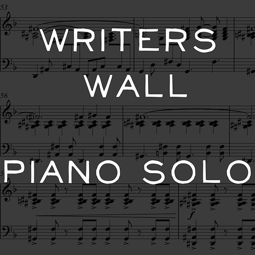 Writers Wall -  Piano Solo