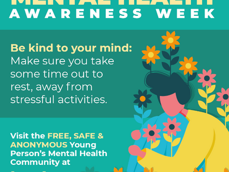 Mental Health Awareness Week - KINDNESS POSTERS