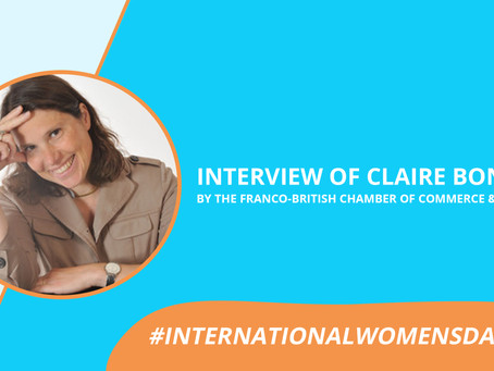 #WomensDay: Watch the interview of Claire Bonniol, Co-founder of CXB HUB.