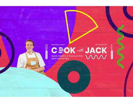 #CookwithJack: Quick, healthy & tasty lunches each school day