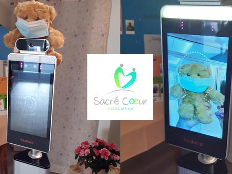 Nos clients sont satisfaits de nos kiosques à capteurs de température, et ils le disent !