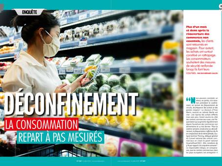 DÉCONFINEMENT - La consommation repart à pas mesurés
