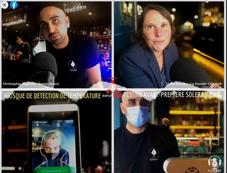 Podcast InfosBar: Le Solera Paris est le 1er bar à tester le kiosque à température de CXB HUB