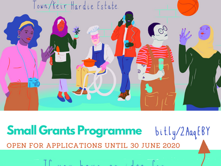 Community Links and Clarion Futures small grants programme in Canning Town or Kier Hardie Estate